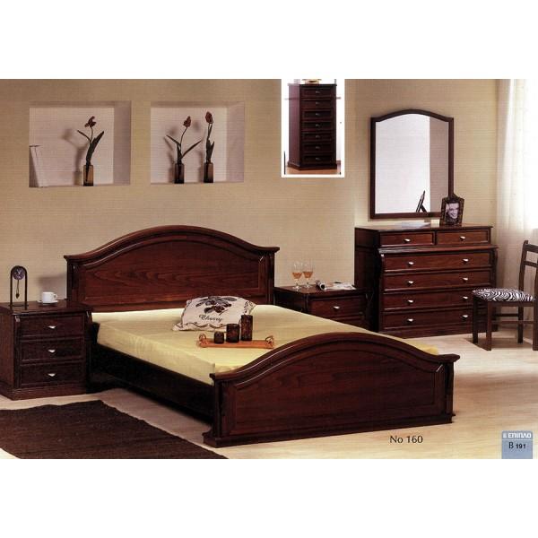 Vintage κλασική κρεβατοκάμαρα